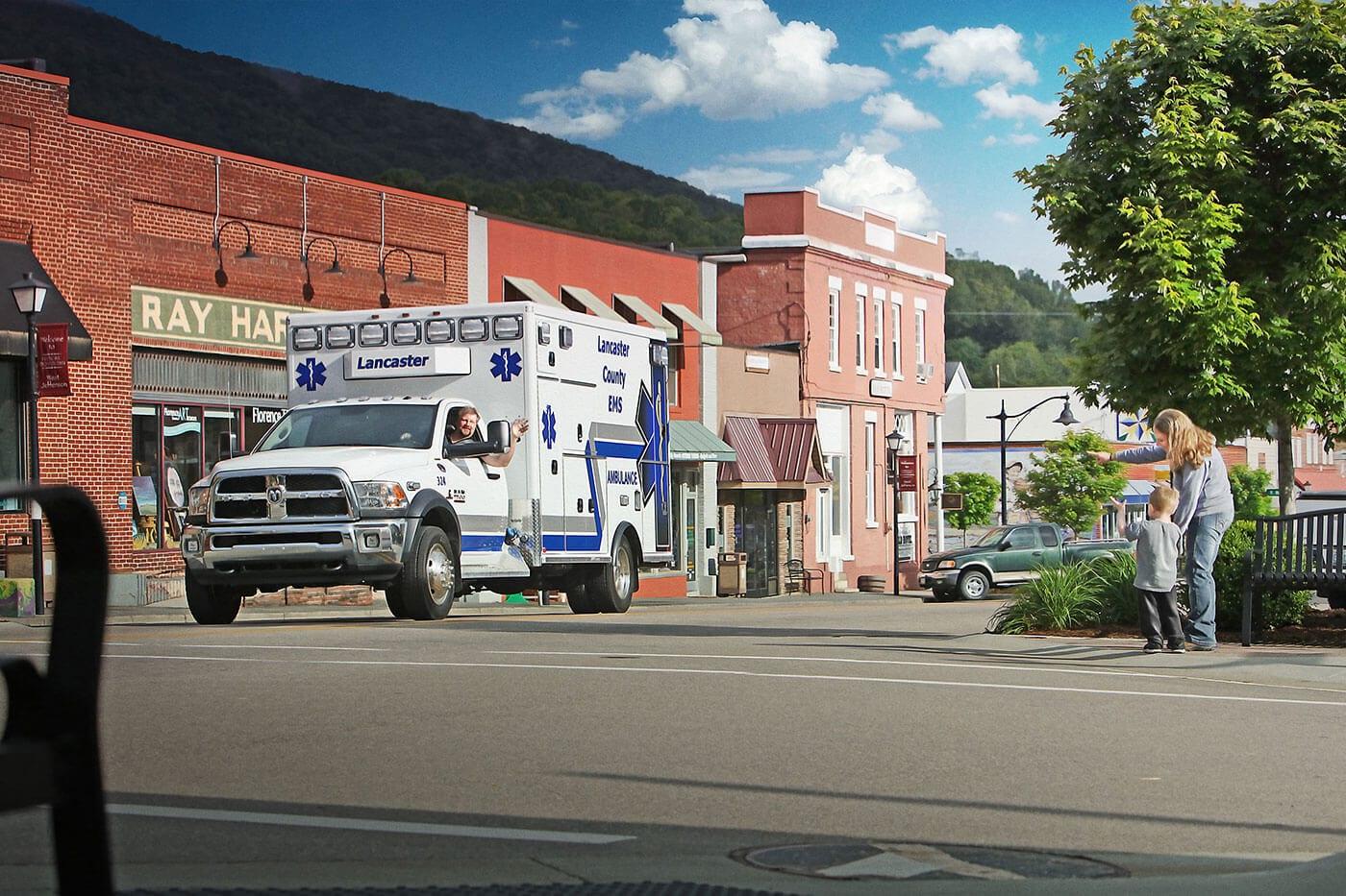 AEV Type 1 Ambulance